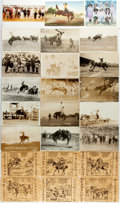 Miscellaneous:Postcards, [Postcards]. Group of Postcards Depicting Western Themes. Variousdates. Most measure 4 x 6 inches. Some are used, most are ...