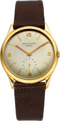 Timepieces:Wristwatch, Patek Philippe Ref. 2507/1 Gent's Fine Gold Wristwatch, circa 1951....