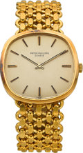 Timepieces:Wristwatch, Patek Philippe Ref. 3544 Fine Yellow Gold Gent's Wristwatch, circa1971. ...