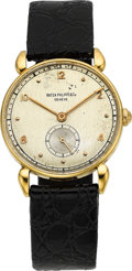 Timepieces:Wristwatch, Patek Philippe Ref. 1509 Vintage Gold Wristwatch, circa 1945. ...