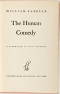 Books:Literature 1900-up, William Saroyan. INSCRIBED. The Human Comedy. New York:Harcourt, Brace, [1943]. First edition. Lengthily Insc...