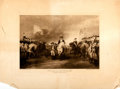 Books:Prints & Leaves, John Trumbull. Surrender of Lord Cornwallis at Yorktown.Boston: Elson, 1898. Engraving after a painting by Trumbull...