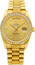 Timepieces:Wristwatch, Rolex Ref. 18078 Oyster Perpetual Day-Date President, circa 1982. ...