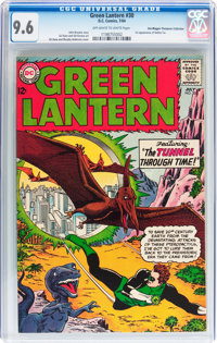 Green Lantern #30 Don/Maggie Thompson Collection pedigree (DC, 1964) CGC NM+ 9.6 Off-white to white pages