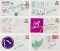 Explorers:Space Exploration, Apollo 9 Flight-Related Covers Signed by Jim McDivitt and RustySchweickart (Six). ... (Total: 6 Items)