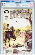 Modern Age (1980-Present):Horror, Walking Dead #2 (Image, 2003) CGC NM- 9.2 White pages....