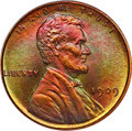 Proof Lincoln Cents, 1909 1C VDB PR67+ Red and Brown PCGS Secure. CAC Gold Label....