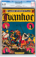 Golden Age (1938-1955):Classics Illustrated, Classic Comics #2 Ivanhoe - Original Edition (Gilberton, 1941) CGC FN 6.0 Off-white to white pages....