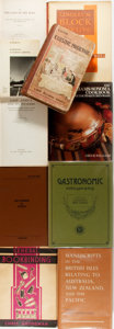 Books:Reference & Bibliography, Group of Ten Miscellaneous Reference Books. Includes selections onbookbinding, world history, cooking et al. Various publis...(Total: 10 Items)