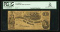Confederate Notes:1862 Issues, T44 $1 1862 PF- 1 Cr. 339.. ...