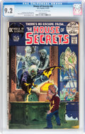 Bronze Age (1970-1979):Horror, House of Secrets #96 (DC, 1972) CGC NM- 9.2 Off-white to whitepages....