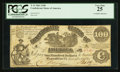 Confederate Notes:1861 Issues, T13 $100 1861 PF-4 Cr. 56.. ...