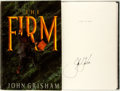 Books:Mystery & Detective Fiction, John Grisham. SIGNED. The Firm. New York: Doubleday, [1991].Later printing. Signed by the author. Publisher's b...
