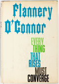 Books:Literature 1900-up, Flannery O'Connor. Everything that Rises Must Converge. NewYork: Farrar, Straus and Giroux, [1965]. First edition, ...