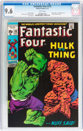 Bronze Age (1970-1979):Superhero, Fantastic Four #112 (Marvel, 1971) CGC NM+ 9.6 White pages....