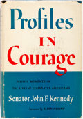Books:Americana & American History, John F. Kennedy. Profiles in Courage. New York: Harper &Brothers, [1956]. Early printing. Publisher's binding and d...