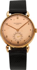 Timepieces:Wristwatch, Patek Philippe & Co. Vintage Pink Gold Wristwatch, circa 1948....