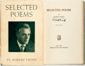 Books:Literature 1900-up, Robert Frost. SIGNED. Selected Poems. New York: Henry Holt,[1934].Third edition. Signed by the author on the titl...