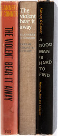 Books:Literature 1900-up, Flannery O'Connor. Three First Editions. Includes Two copies ofThe Violent Bear It Away (1960) and A Good Man i...(Total: 3 Items)