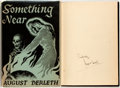 Books:Horror & Supernatural, August Derleth. SIGNED. Something Near. Sauk City: ArkhamHouse, 1945. First edition, one of 2,000 copies. Signed ...