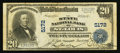 National Bank Notes:Missouri, Saint Louis, MO - $20 1902 Plain Back Fr. 658 The State NB Ch. #5172. ...