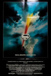 [Movie Posters]. Superman the Movie. Warner Brothers, 1978. Starring Marlon Brando