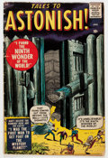 Silver Age (1956-1969):Horror, Tales to Astonish #1 (Marvel, 1959) Condition: VG-....