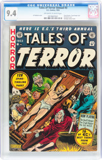 Tales of Terror Annual #3 (EC, 1953) CGC NM 9.4 Off-white to white pages