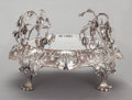 Silver Holloware, American, A CLEMENS FRIEDELL SILVER FOOTED PLATEAU . Clemens Friedell, Pasadena, California, circa 1937. Inscribed: Made by Clemens ...