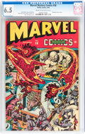 Golden Age (1938-1955):Superhero, Marvel Mystery Comics #58 (Timely, 1944) CGC FN+ 6.5 Cream to off-white pages....