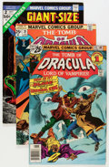 Bronze Age (1970-1979):Horror, Tomb of Dracula Group (Marvel, 1973-79) Condition: Average VG....(Total: 32 Comic Books)