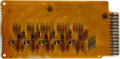 Explorers:Space Exploration, Apollo Program: RCA 110A Computer Board as Used in the SaturnGround Control System. ...