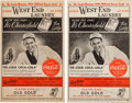 Autographs:Others, 1941 New York Yankees & St. Louis Browns Multi Signed ProgramsLot of 2....