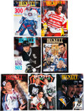 Hockey Collectibles:Publications, 1993-95 Collection of Signed Beckett Hockey Magazines - 36 Total....