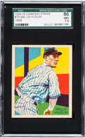 Baseball Cards:Singles (1930-1939), 1934 Diamond Stars Willis Hudlin (1936) #79 SGC 86 NM+ 7.5. ...