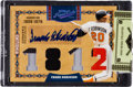 Baseball Cards:Singles (1970-Now), 2008 Donruss Prime Cuts Frank Robinson Signed/Jersey Swatch Insert#'d 1/1! ...