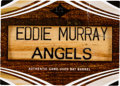 Baseball Cards:Singles (1970-Now), 2008 Topps Triple Threads Eddie Murray Bat Nameplate Relic #'d 1/1!...