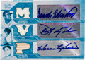 Autographs:Sports Cards, 2008 Topps Triple Threads Robinson/Yastrzemski/KillebrewSwatch/Autograph Card. ...