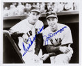 Baseball Collectibles:Photos, Joe DiMaggio and Ted Williams Dual Signed Photograph....