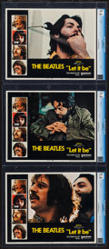 "Movie Posters:Rock and Roll, Let It Be (United Artists, 1970). CGC Graded Lobby Cards (3) (11"" X14""). Rock and Roll.. ... (Total: 3 Items)"
