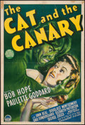"""Movie Posters:Horror, The Cat and the Canary (Paramount, 1939). Australian One Sheet (27"""" X 40""""). Horror.. ..."""