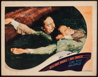 "One Way Passage (Warner Brothers, 1932). Lobby Card (11"" X 14""). Romance"