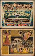 """Movie Posters:Musical, On with the Show! & Other Lot (Warner Brothers, 1929). Lobby Cards (2) (11"""" X 14""""). Musical.. ... (Total: 2 Items)"""