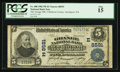 National Bank Notes:Pennsylvania, Smethport, PA - $5 1902 Plain Back Fr. 600 The Grange NB of McKeanCounty Ch. # (E)8591. ...