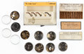 Timepieces:Other , A Wealth Of Watchmakers Washers & Parts. ... (Total: 13 Items)