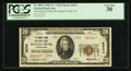 National Bank Notes:Pennsylvania, Mauch Chunk, PA - $20 1929 Ty. 2 The Mauch Chunk NB Ch. # 6534. ...