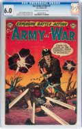Golden Age (1938-1955):War, Our Army at War #1 (DC, 1952) CGC FN 6.0 Cream to off-whitepages....