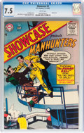 Silver Age (1956-1969):Superhero, Showcase #5 Manhunters (DC, 1956) CGC VF- 7.5 White pages....