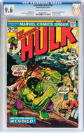 Bronze Age (1970-1979):Superhero, The Incredible Hulk #180 (Marvel, 1974) CGC NM+ 9.6 Cream tooff-white pages....