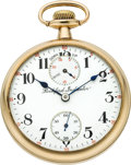 Timepieces:Pocket (post 1900), Rockford 17 Jewel 16 Size Wind Indicator, circa 1912. ...